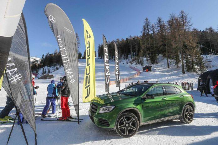Il Mercedes-Benz 4MATIC TOUR by FISCHER arriva in Abruzzo.