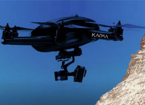 Karma, il nuovo drone di GoPro non è pronto e non arriverà prima di Natale