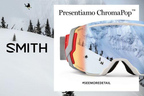 ChromaPop, le lenti SMITH al top della tecnologia