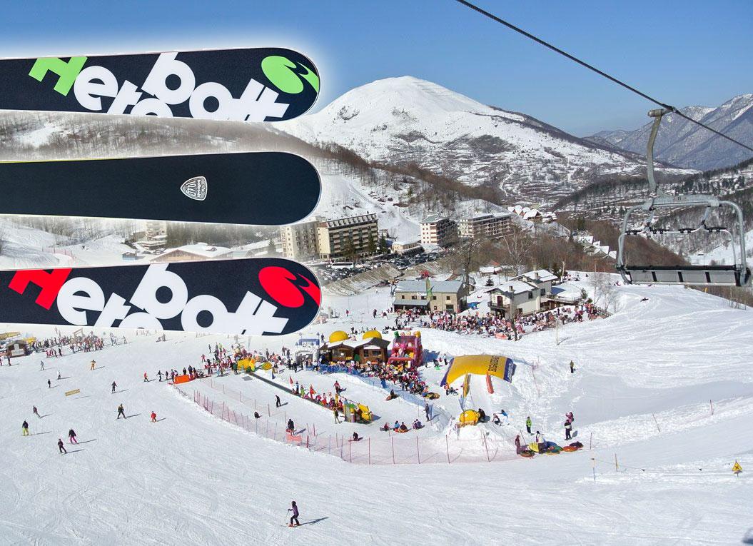 A Limone Piemonte il 4 e 5 Febbraio allo Ski Test Bottero Ski porti a casa la thisrt Neveitalia!
