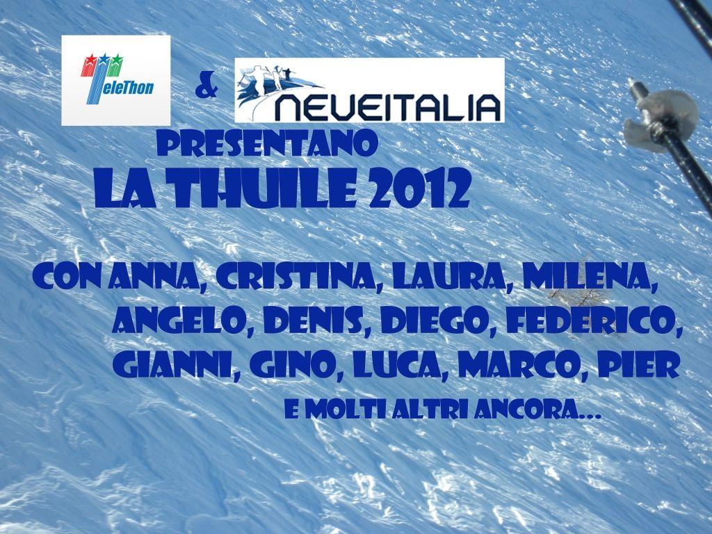 Evento con Telethon 2012