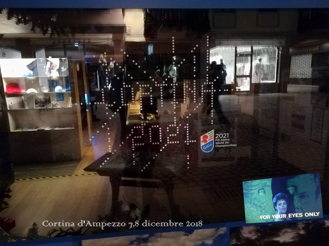 Cortina 7,8 dicembre 2018
