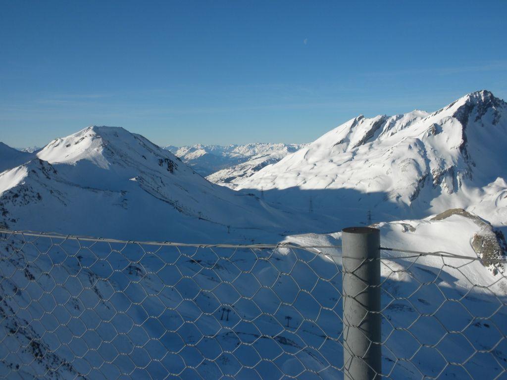 la vallata del san bernardo vista dallo Chaz Dura