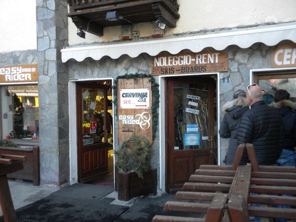 ...nel posto consigliato da Oltreneve  a Breuil in Via Carrel n.11.