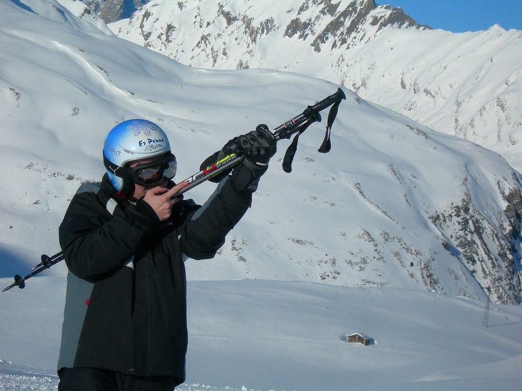 (ma vi ho già parlato del mio nuovo completo da sci?)