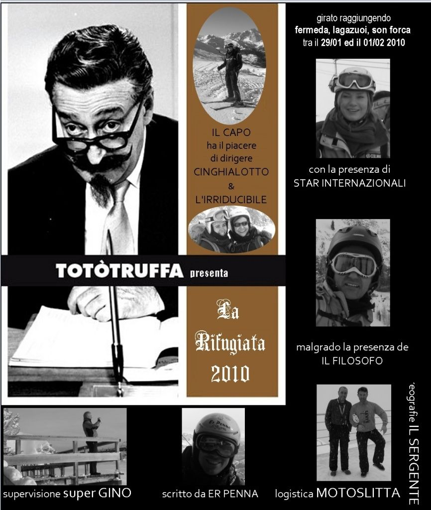 Rifugi: Fermeda, Lagazuoi, Son Forca 29/01 01/02 2010
