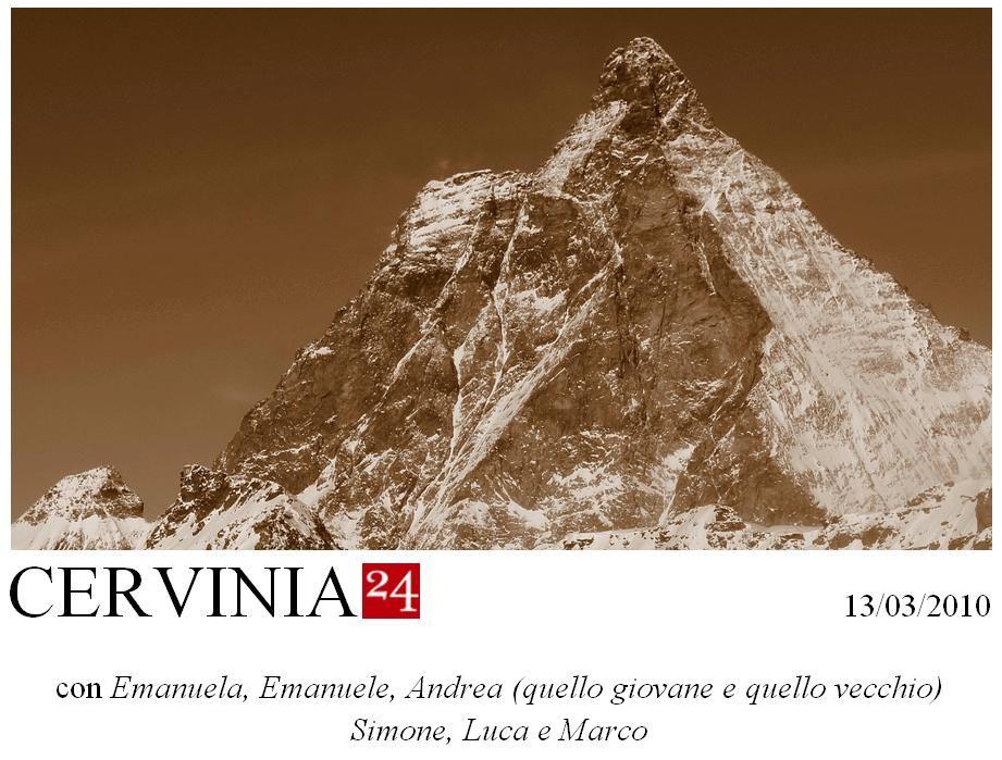 una gita Neveitalia con la simpatica partecipazione di Emanuela ed Emanuele, i due Andrea, Simone, Luca e Marco.