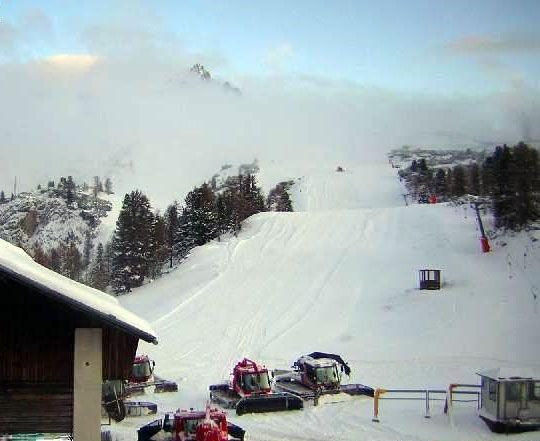 Cortina Piste Faloria 5 Novembre 2009