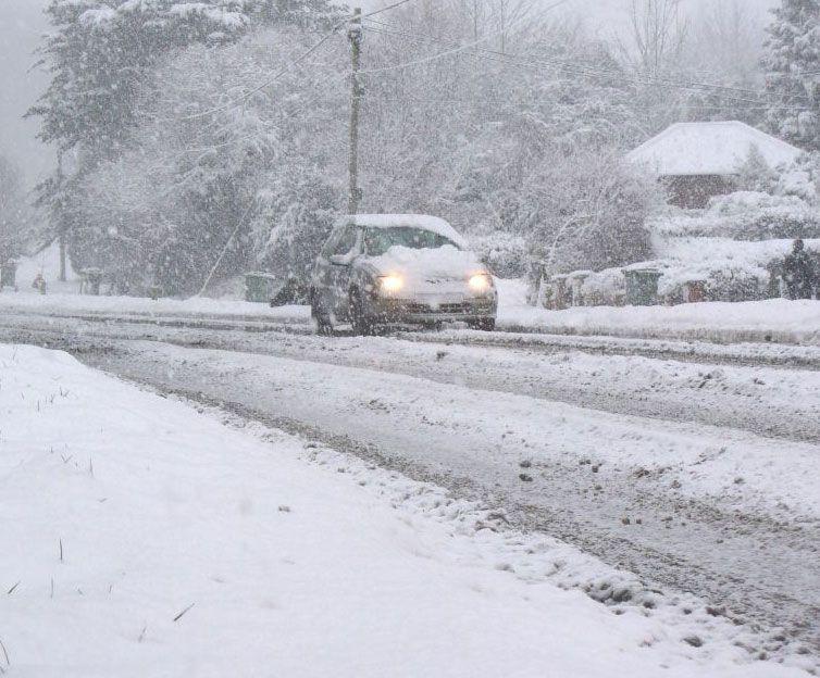 Guida nella neve