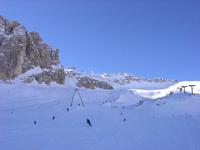 skilift della Marmolada