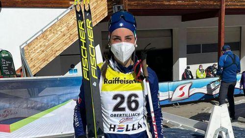 Passler di Bronzo nell'Inseguimento Junior, Oro alla svizzera Amy Baserga