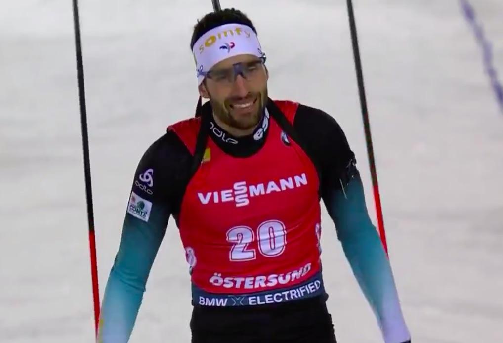 Biathlon: Fourcade vince l'Individuale di Ostersund. Ciclone Francia: quattro nelle prime quattro posizioni.