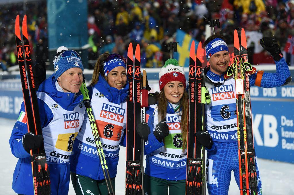 Mondiali Biathlon: Italia di Bronzo nella Staffetta Mista, Oro alla Norvegia