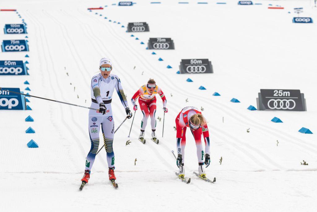 Bis di Nilsson e Klaebo, De Fabiani quarto nella 15 km in alternato di Quebec City