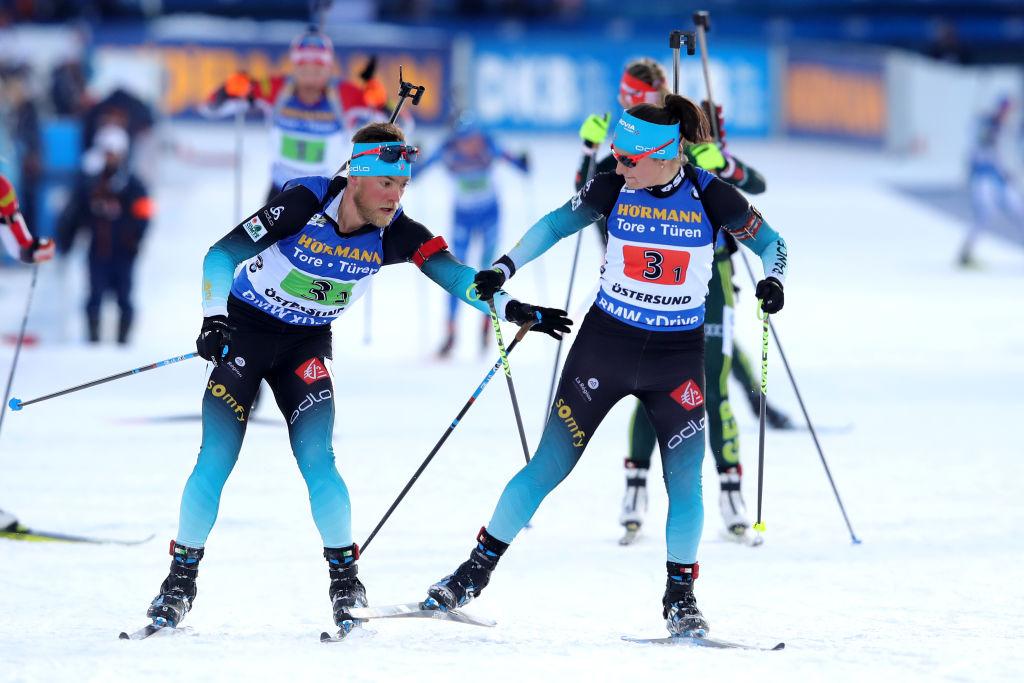 Mondiali Biathlon: Simon e Guigonnat Oro nella Staffetta a Coppie, Wierer crolla all'ultimo poligono