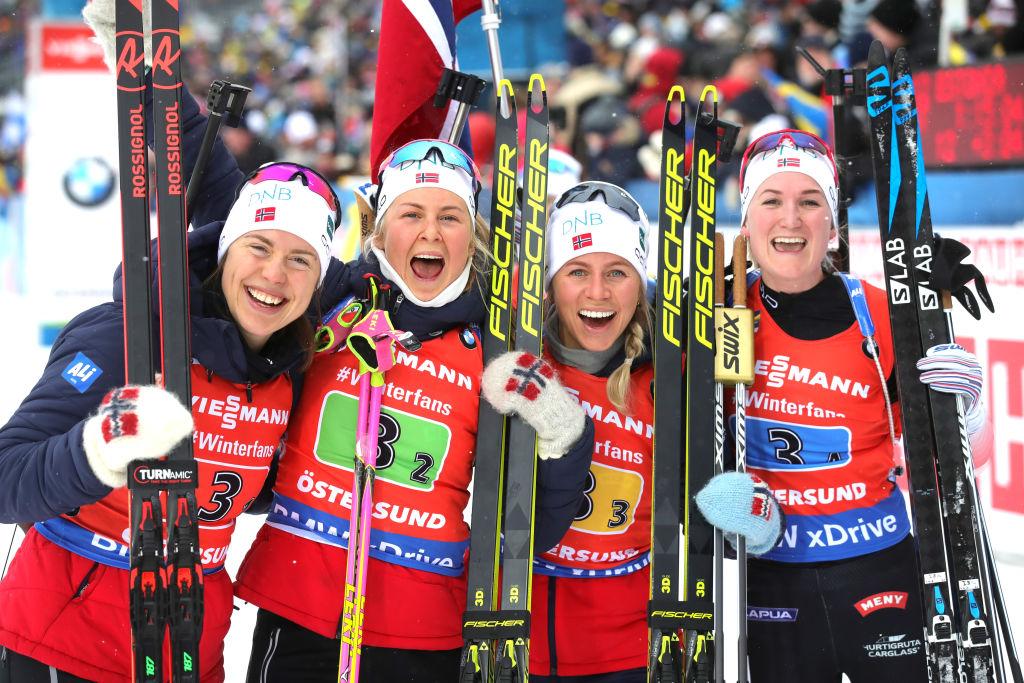 La Norvegia si conferma sul trono della Staffetta Femminile, Italia decima