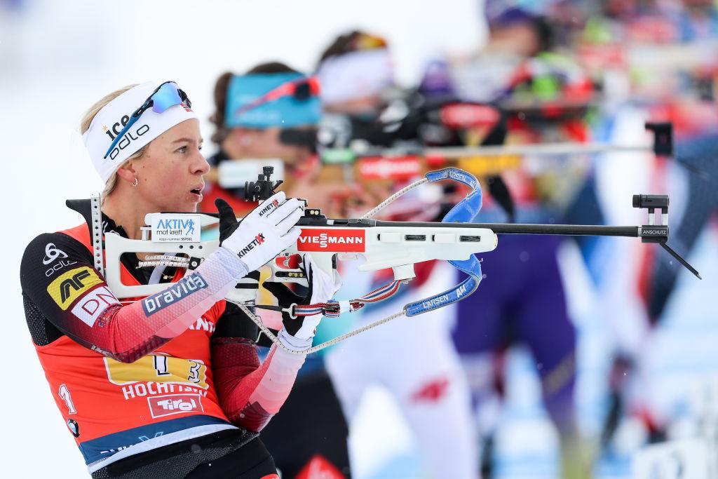 Tiril Eckhoff vince l'Inseguimento di Hochfilzen, nona Dorothea Wierer