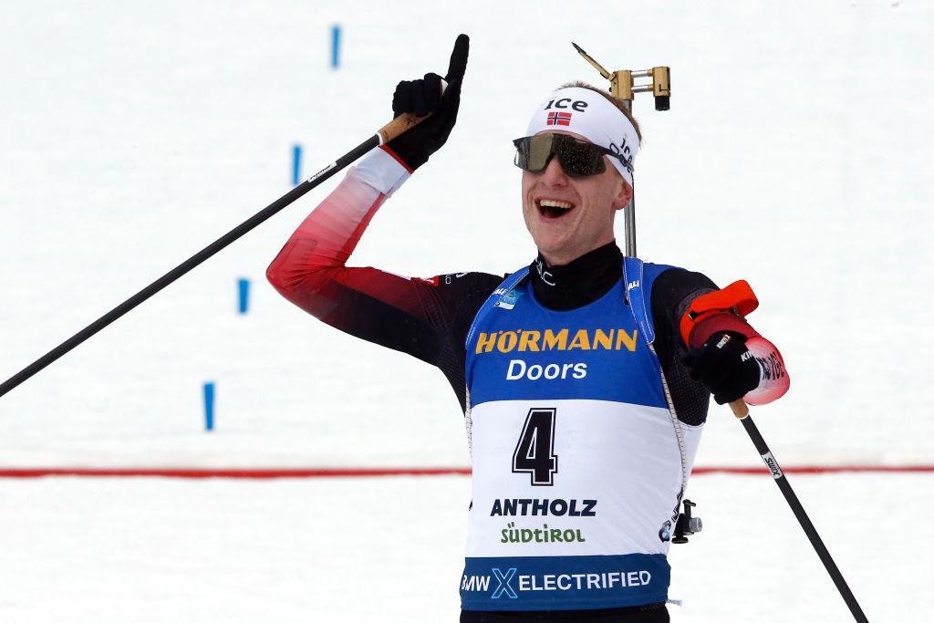 Show di Johannes Boe sugli sci: è sua la Mass di Nove Mesto
