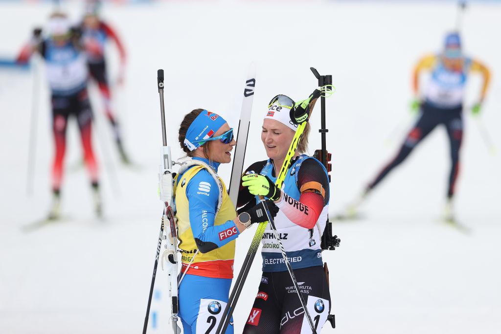 Biathlon: i Mondiali rilanciano Roeiseland ma Dorothea Wierer è in pole per la Coppa