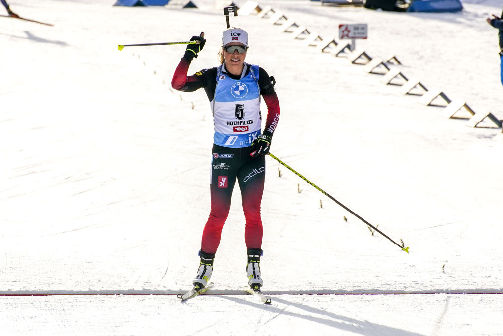 Mondiali Biathlon: Tiril Eckhoff vince la Sprint, quinta Lisa Vittozzi