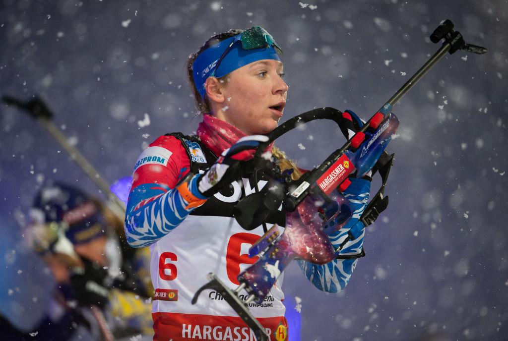 Biathlon: Staffetta femminile della Russia a Anterselva, Italia quarta