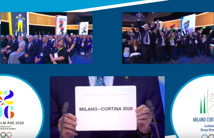 Milano-Cortina 2026: a Losanna il sogno diventa realtà!