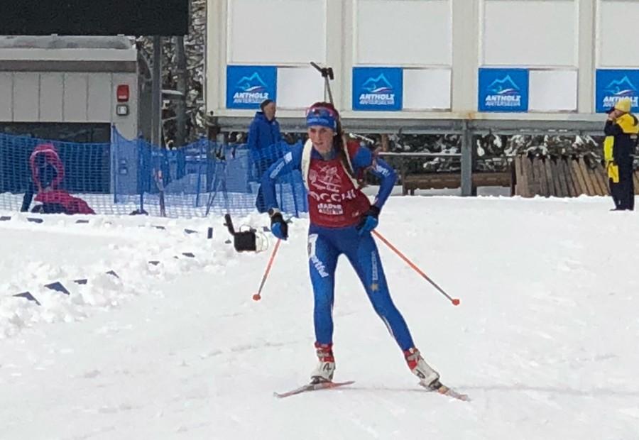 Beatrice Trabucchi Bronzo nell'Individuale dei Mondiali Junior di Biathlon