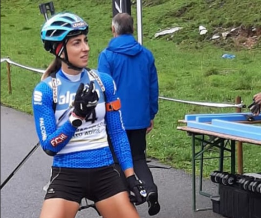 Lukas Hofer e Lisa Vittozzi sono campioni italiani estivi della Sprint