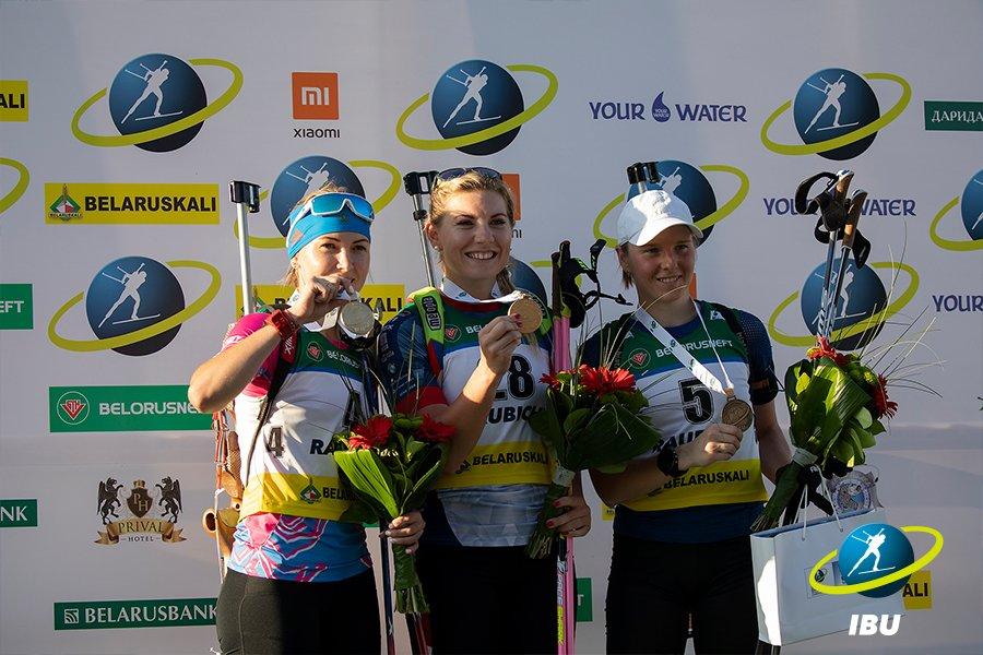Bis di Lapshin e Charvatova-Glazyrina nella Sprint ai Mondiali di Summer Biathlon