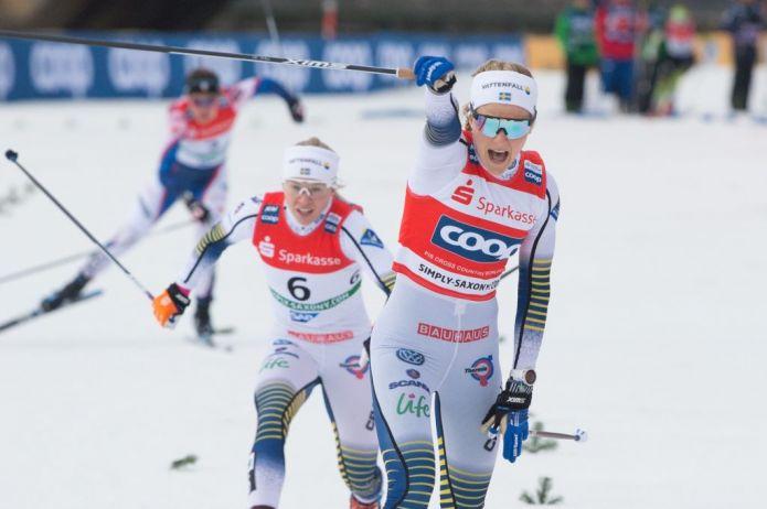 Il norvegese Skar e Stina Nilsson vincono la Sprint in tecnica libera di Dresda