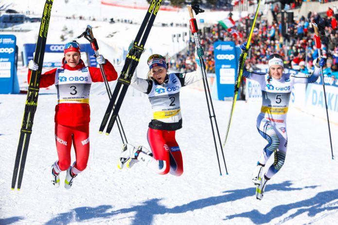 Therese Johaug trionfa nella 30 km in tecnica classica di Holmenkollen