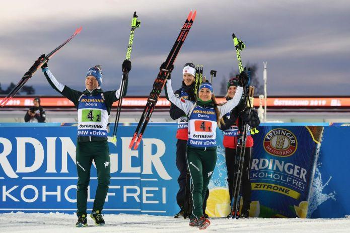 Mondiali Biathlon: Wierer, 'Quest'Argento è per la squadra'