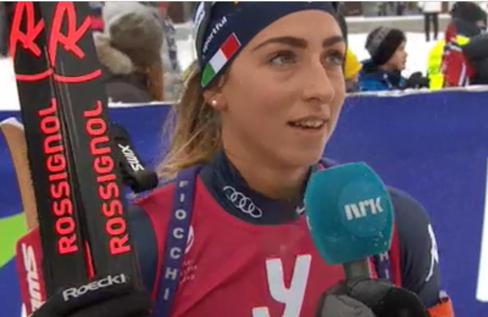 Lisa Vittozzi si impone nella Sprint di Sjusjoen, terza Dorothea Wierer