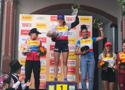 Veronica Gianmoena terza a Oberhof. Vincono Nadymova e il francese Gerard
