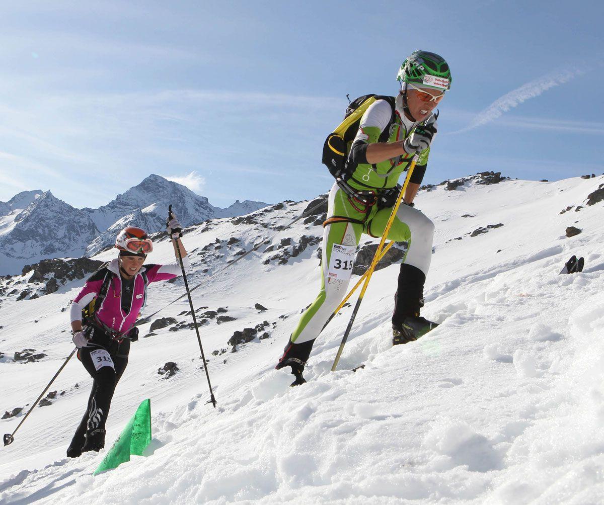 prima tappa Alpe Vieille, Tour du Rutor 2012 credit: Newspower Canon