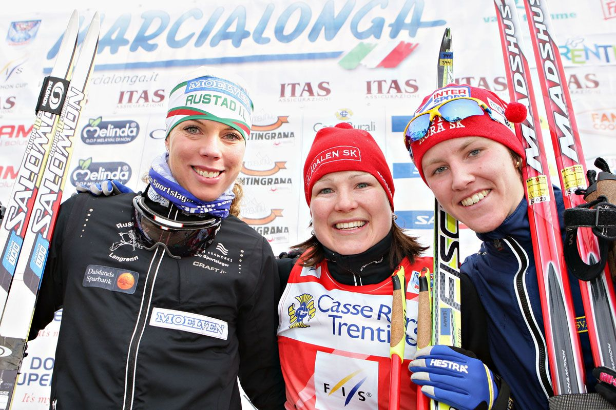da sinistra Sandra Hansson, Jenny Hansson, Susanne Nystrom