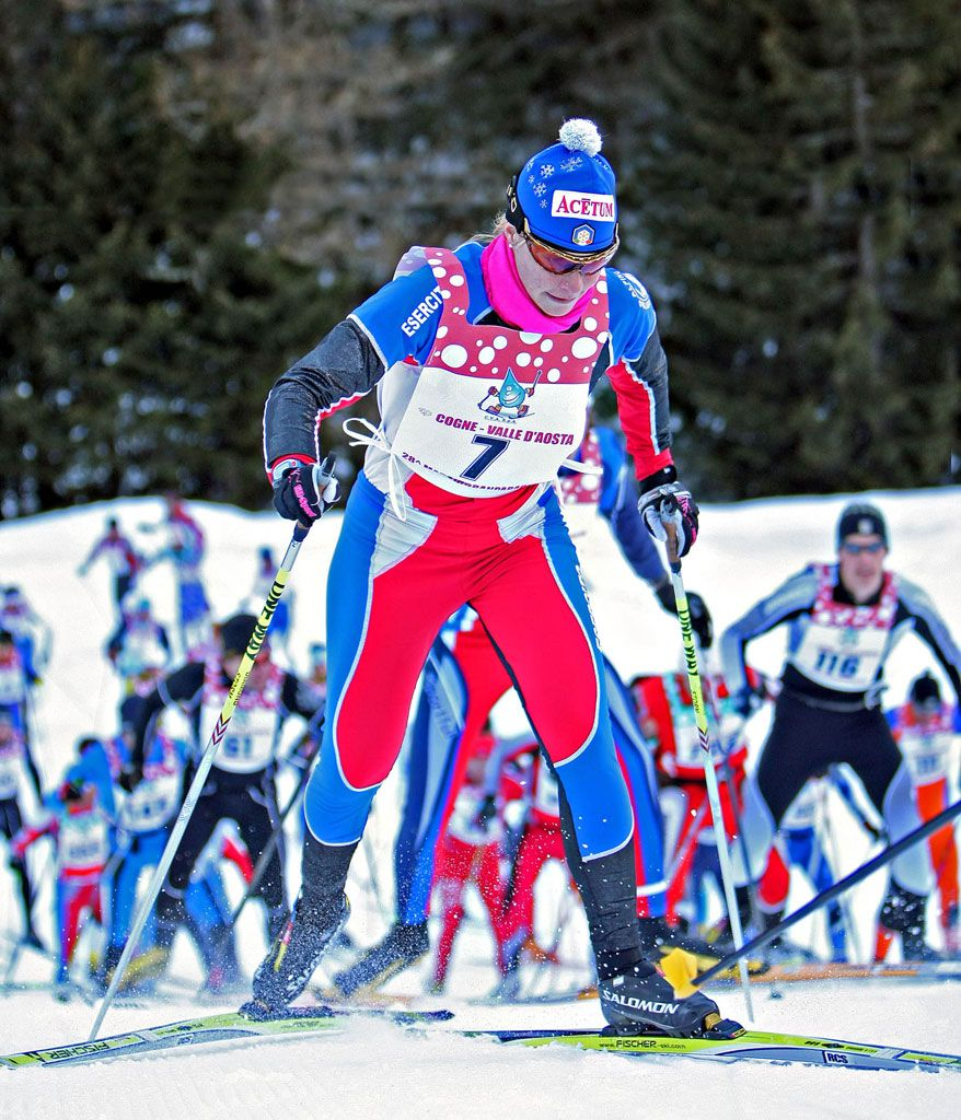 Marcia Gran Paradiso 10 febbraio 2008 © NewsPower Canon