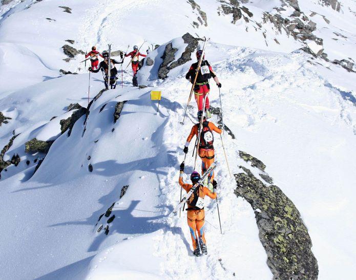 passaggio in cresta Alp Vieille
