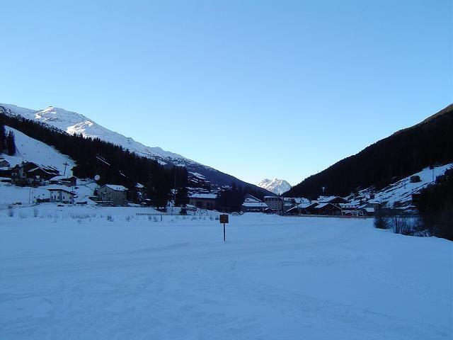Tramonto sulle piste da fondo di Santa Caterina Valfurva<br />