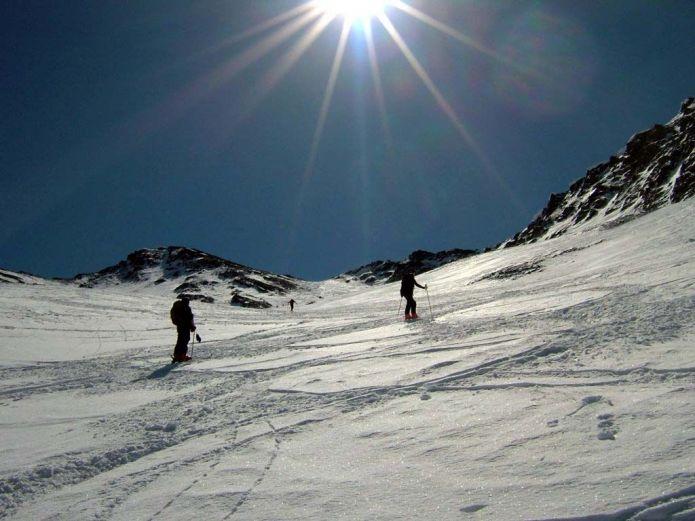 scialpinismo al monte Faraut (valle di bellino-Piemonte)