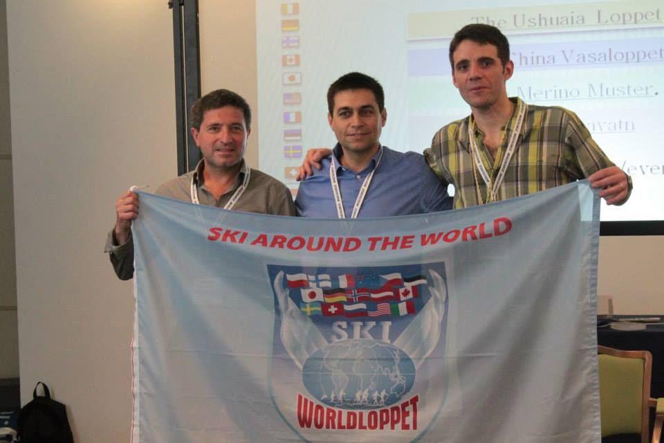 La delegazione di Ushuaia/Marchablanca al Congresso WorldLoppet 2014