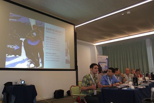 La delegazione di Ushuaia presenta la candidatura Marchablanca al congresso WorldLoppet