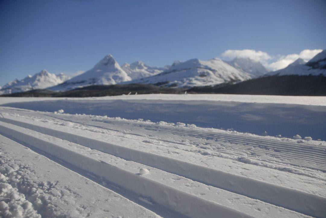 Piste e condizioni eccellenti d'inverno a Ushuaia