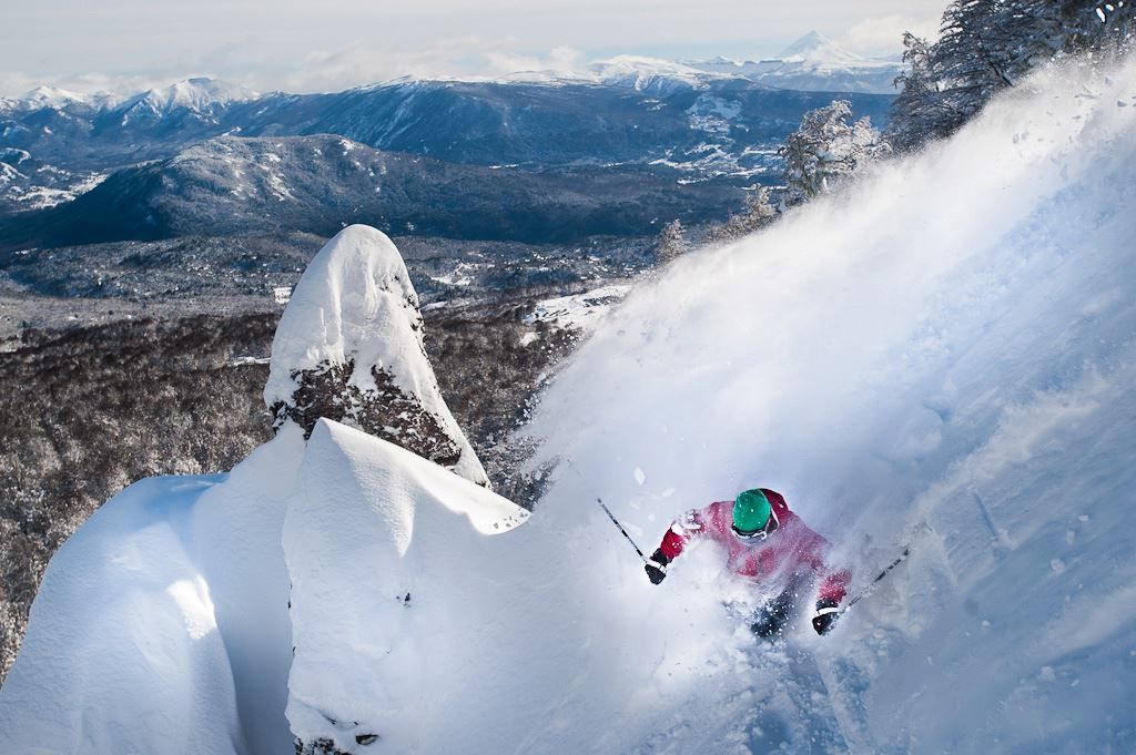 Powder in Chapelco
