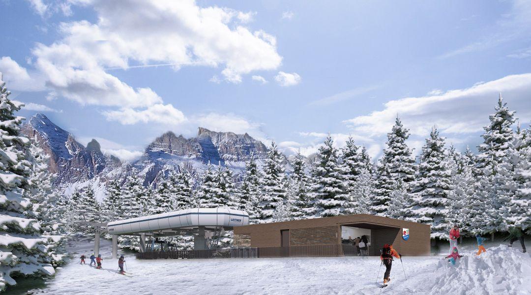 Cortina d'Ampezzo, una nuova cabinovia Leitner collegherà le Tofane alle Cinque Torri