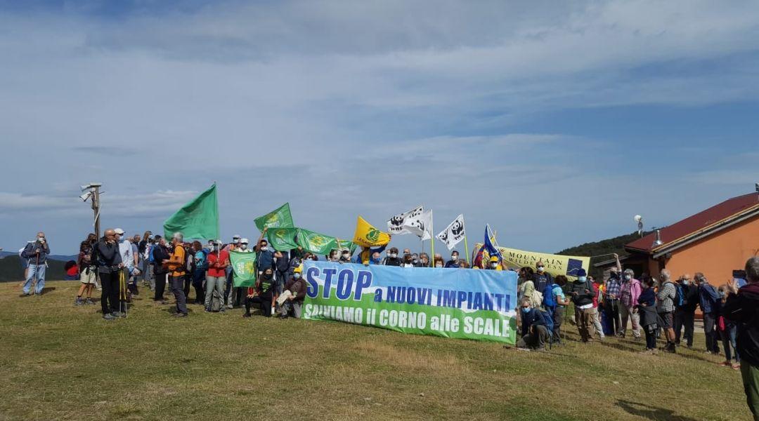 Corno alle Scale, protesta degli ambientalisti per la nuova seggiovia Polla – Lago Scaffaiolo