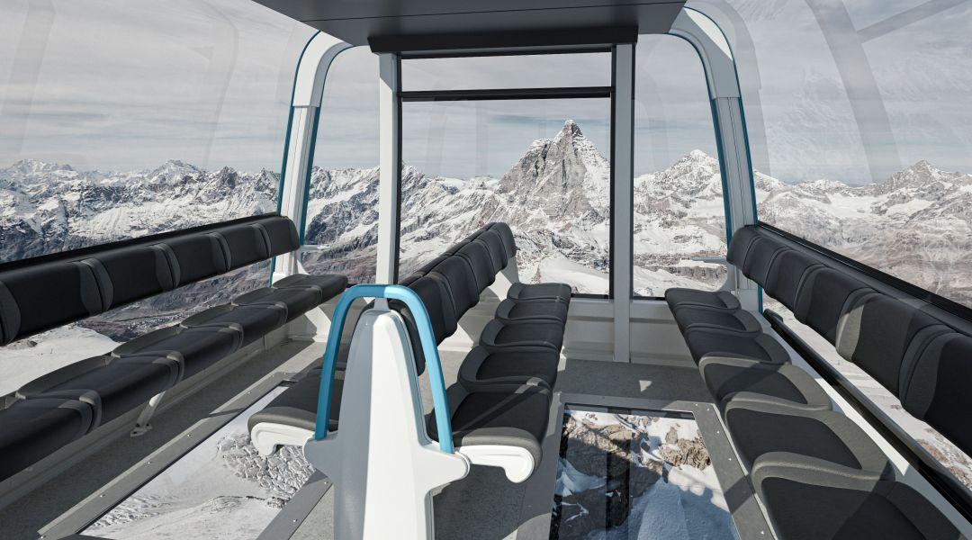 """Zermatt-Cervinia, si lavora per la nuova cabinovia di collegamento """"Matterhorn glacier ride II"""""""