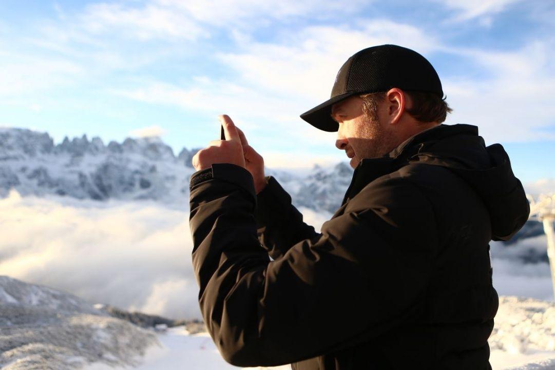 bomber Experience 2017 Bode Miller Paganella Ski Ph. Pierre Teyssot