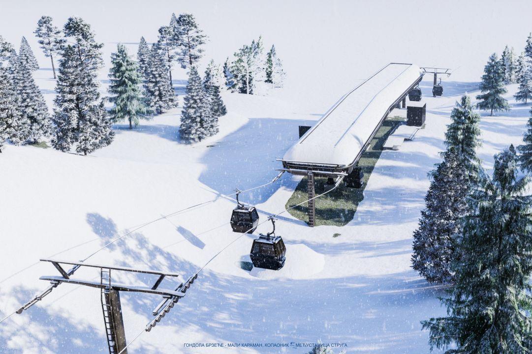 Serbia, una nuova cabinovia a 10 posti nel comprensorio sciistico Kopaonik