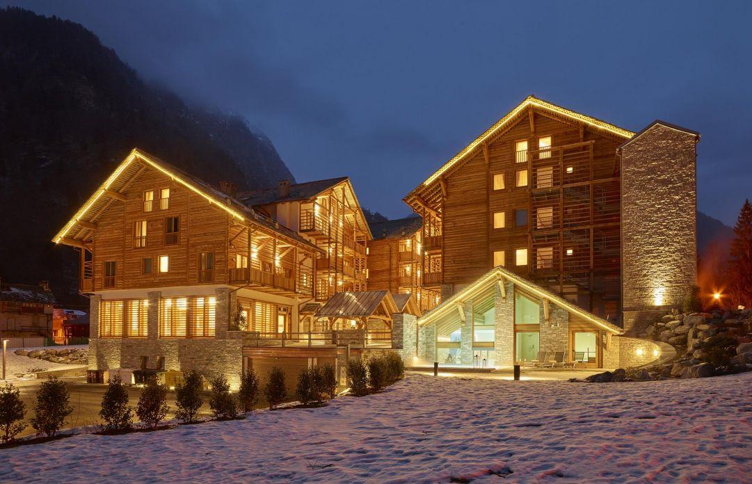 Alagna Experience Resort, la struttura ideale per chi vuole sciare gratis